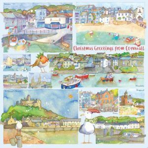 Cornwall Christmas Cards