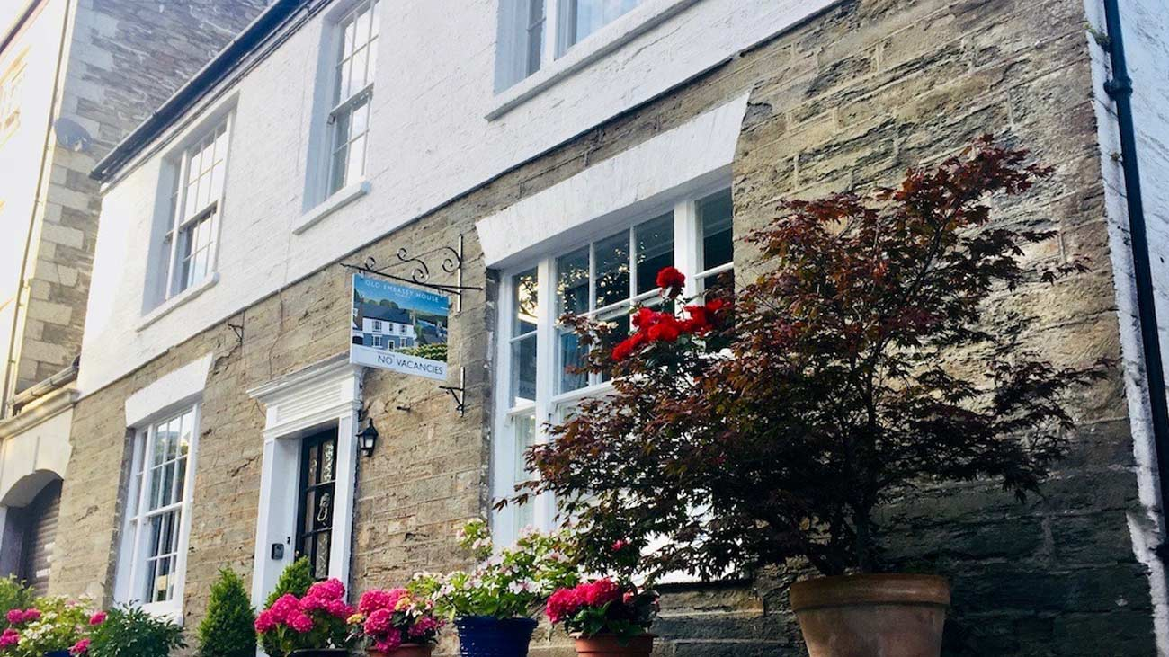 Old Embassy House in Fowey