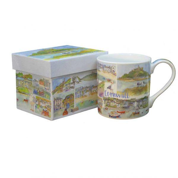 Cornwall Mug Giftbox