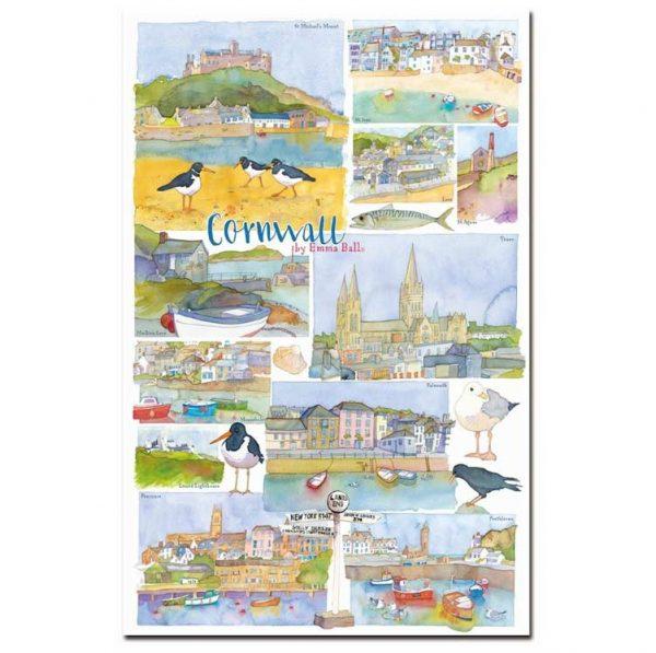 Cornwall Tea Towel