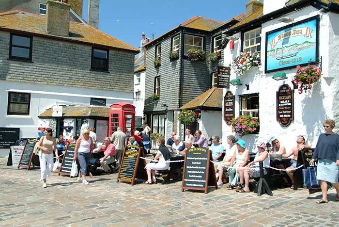 Sloop Inn - Places to eat in St Ives